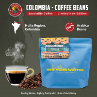 New York Coffee - Colombia Hulia - Beans - 250gm