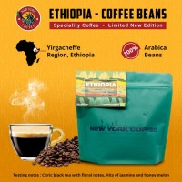 New York Coffee - Ethiopia Yirgacheffe Certified organic - Beans - 250gm